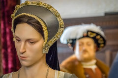 Ann Boleyn figure Royalty Free Stock Photography