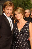 Ann Lembeck, Denis Leary Stock Images