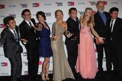 Ann Miller, Berenice Bejo, James Cromwell, Jean Dujardin, Missi Pyle, Penelope Ann Miller, Michel Hazanavicius Stockfoto