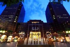 Λεωφόρος πόλεων της Ann Ngee, Σιγκαπούρη Στοκ φωτογραφίες με δικαίωμα ελεύθερης χρήσης