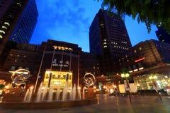 Λεωφόρος πόλεων της Ann Ngee, Σιγκαπούρη Στοκ Εικόνες