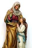 Ann santamente - matriz de Mary virgem Imagem de Stock