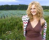 Ann sorridente Fotografia Stock Libera da Diritti