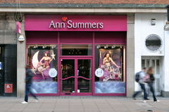 Ann Summers Oxford Street London store Royalty Free Stock Photos