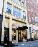 Ann Taylor, Boston, MA. Royalty Free Stock Photos
