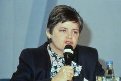 Ann Widdecombe fotografie stock