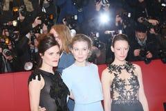 Anna Μαρία Muehe, Katharina Schuettler και Hannah Herzsprung Στοκ φωτογραφία με δικαίωμα ελεύθερης χρήσης