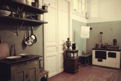 The Anna Akhmatova Museum at The Fountain House. Kitchen. Petersburg Royalty Free Stock Photography