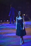 Anna Aronov (dancer ) Royalty Free Stock Photography