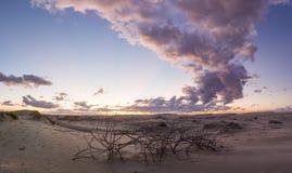 Anna Bay - port Stephens Australia Photos libres de droits