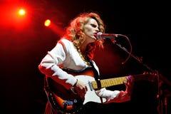 Anna Calvi (band) live performance at Bime Festival Stock Photography