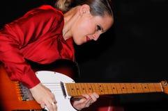 Anna Calvi (band) performs at KGB Stock Photo