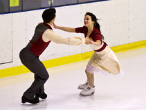 Anna Cappellini and Luca Lanotte Stock Photo