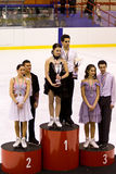 Anna Cappellini and Luca Lanotte Royalty Free Stock Photo