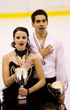 Anna Cappellini and Luca Lanotte Stock Images