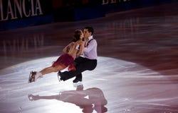 Anna Cappellini und Luca Lanotte Stockfotos