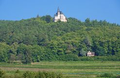 Anna-Chapel,german Wine Route,Germany Royalty Free Stock Images