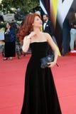 Anna Chapman bij de Filmfestival van Moskou Stock Afbeelding