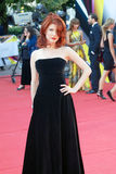 Anna Chapman at Moscow Film Festival Stock Photography