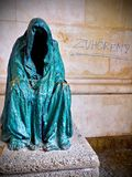 Anna Chromys Skulptur στο Σάλτζμπουργκ, Αυστρία Στοκ φωτογραφία με δικαίωμα ελεύθερης χρήσης