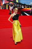 Anna Churina at Moscow Film Festival Royalty Free Stock Images