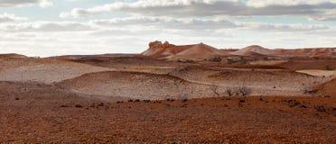 Anna Creek Painted Hills, S?d-Australien, Australien stockfoto