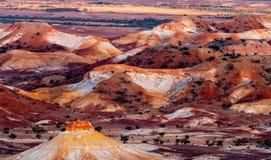 Anna Creek Painted Hills, S?d-Australien, Australien stockbilder