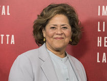 Anna Deavere Smith. Accomplished actor, monologist, and social commentator Anna Deavere Smith arrives for the New York premiere of `The Immortal Life of Royalty Free Stock Photo