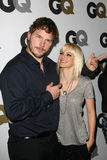 Anna Faris, Chris Pratt Royalty-vrije Stock Fotografie