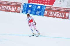 Anna Fenninger on FIS Alpine Ski World Cup  2011/2 Stock Images