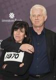 Anna Freud en Richard Curtis Royalty-vrije Stock Afbeeldingen