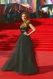 Anna Gorshkova στο φεστιβάλ ταινιών της Μόσχας Στοκ Φωτογραφίες