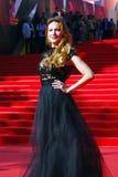 Anna Gorshkova στο φεστιβάλ ταινιών της Μόσχας Στοκ φωτογραφίες με δικαίωμα ελεύθερης χρήσης