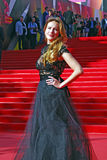 Anna Gorshkova at Moscow Film Festival Royalty Free Stock Photography