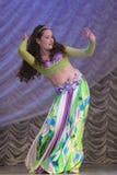 Anna Lipkin con il ballo Immagine Stock