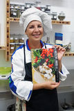Italian Cooking Class with Anna Maria Chirone Royalty Free Stock Photo