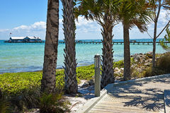 Anna Maria City Pier Royalty Free Stock Photos