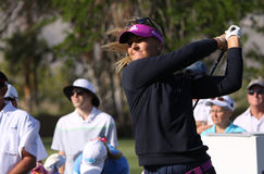 Anna Nordqvist at the ANA inspiration golf tournament 2015 Royalty Free Stock Photo