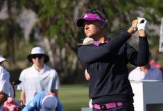 Anna Nordqvist at the ANA inspiration golf tournament 2015 Royalty Free Stock Image