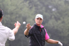 Anna Nordqvist   at  Evian Masters 2010 Stock Photography