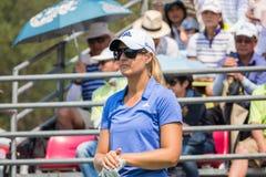 Anna Nordqvist of Sweden in Honda LPGA Thailand 2016 Stock Images