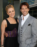 Anna Paquin, Stephen Moyer Royalty Free Stock Photo