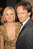 Anna Paquin, Stephen Moyer Στοκ Εικόνα