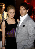Anna Paquin and Stephen Moyer Stock Image