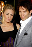 Anna Paquin and Stephen Moyer Royalty Free Stock Photo