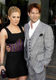 Anna Paquin and Stephen Moyer Stock Images