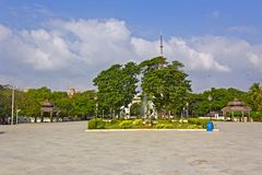 Anna Park in Chennai Royalty Free Stock Image