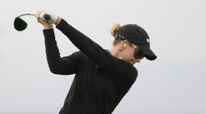 Anna Rawson, excursion européenne de dames de golf Photos libres de droits