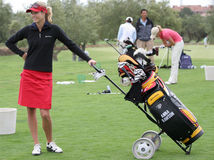 Anna Rawson, golf Ladies European Tour, Royalty Free Stock Photo
