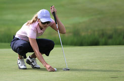 Anna Rawson, golf Ladies European Tour, Royalty Free Stock Images